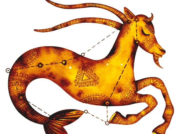 La cabra de mar es la símbolo de Capricornio