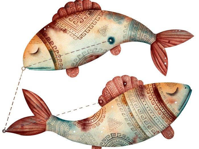 Los peces son el símbolo de Piscis