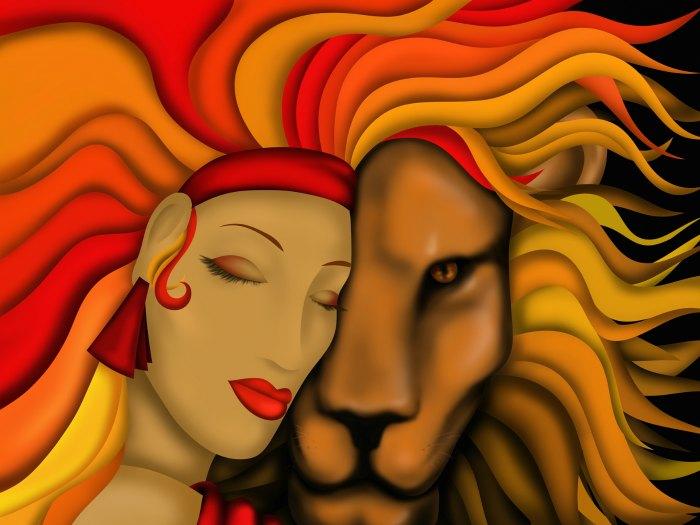 El León es la imagen de de Leo