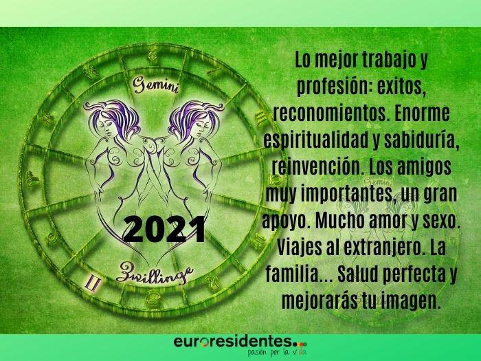 Géminis 2021