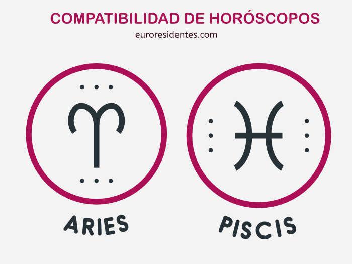 Compatibilidad Aries y Piscis