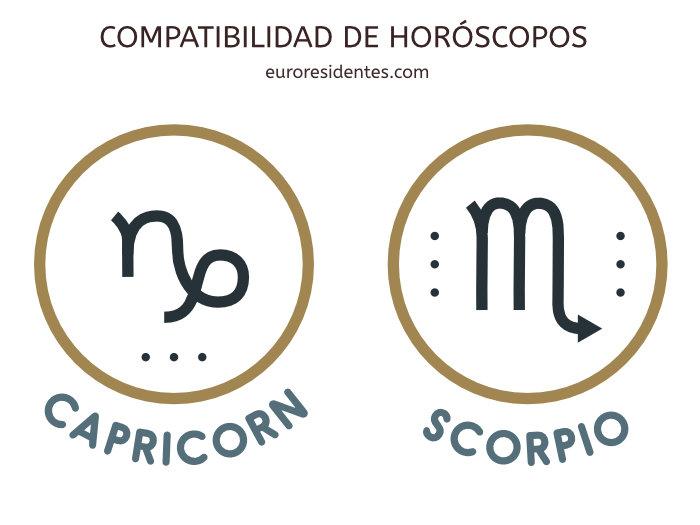 Compatibilidad Capricornio y Escorpio