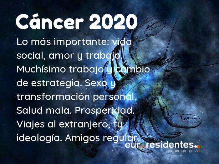 Cáncer 2020