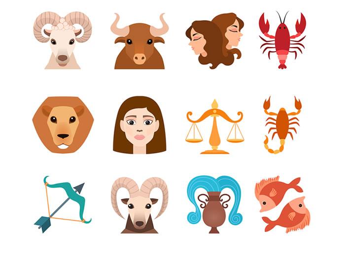 Los signos del zodiáco