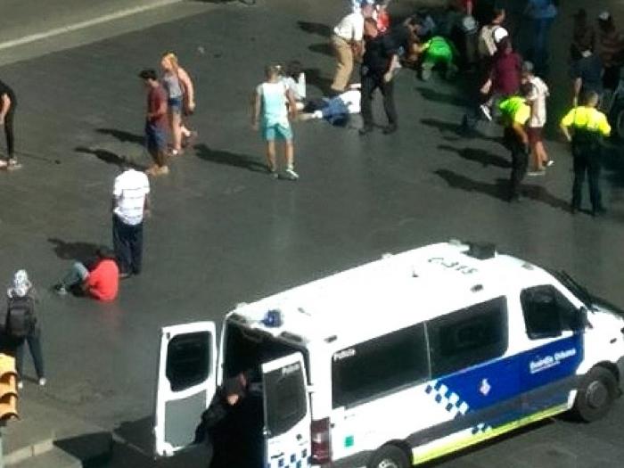 Atentado en Barcelona: 13 muertos y 80 heridos