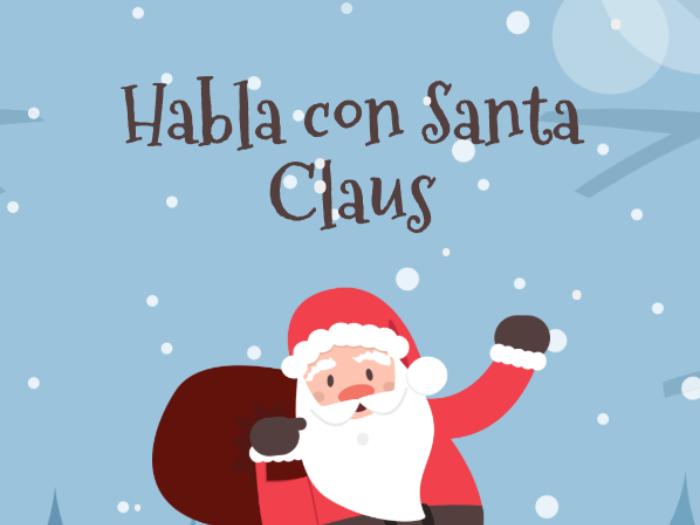 Habla con Santa