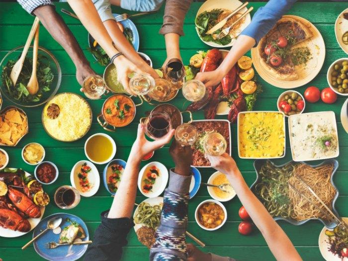 10 Platos para una comida informal en casa con amigos