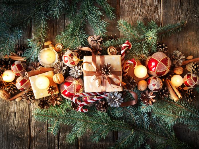adornar casa navidad