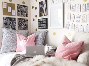 Ideas creativas para decorar paredes con fotos