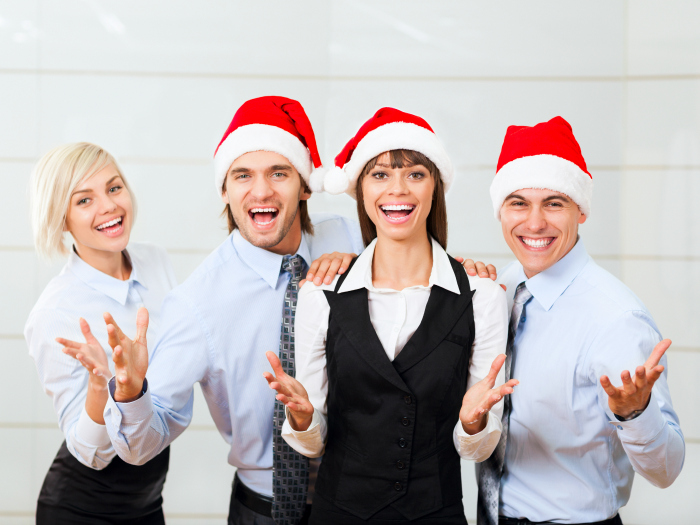 empresa navidad fiesta