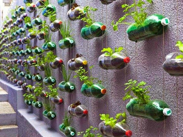 Decoración con Botellas de Plástico - Ideas para decorar reciclando