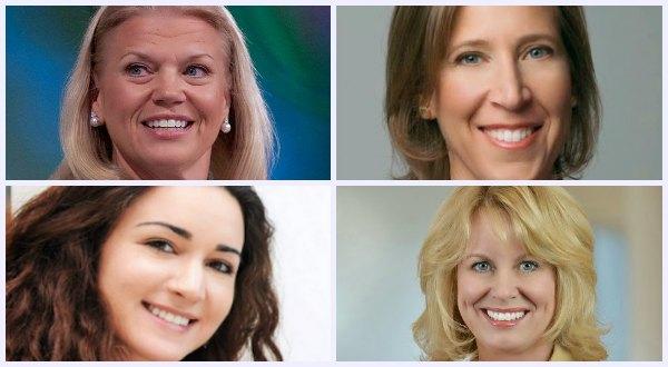 Las 10 mujeres más influyentes en la tecnología mundial