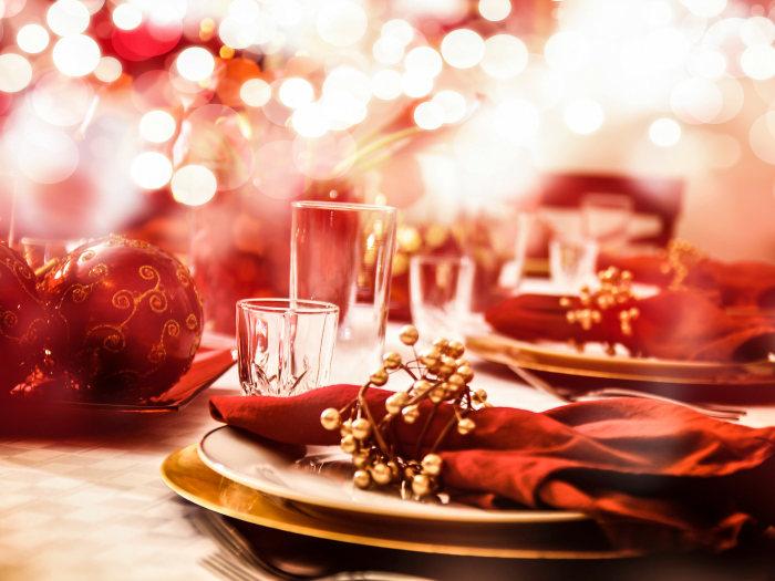 Resultado de imagen de navidad mesa