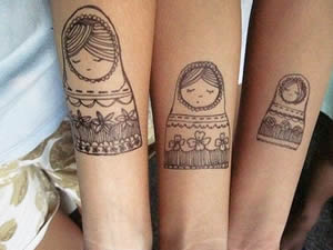 Tatuajes para compartir madre e hija