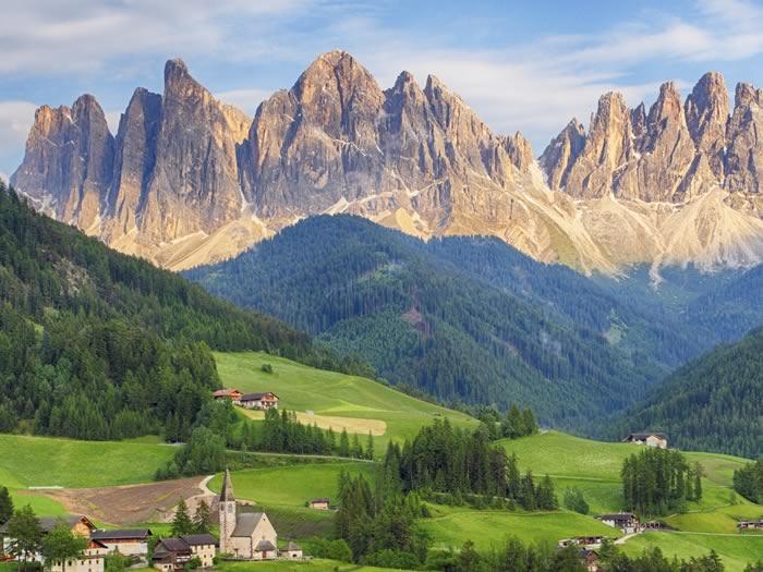 Los Alpes Italia