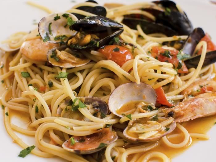 La comida en Italia