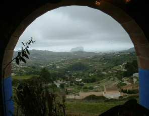 Foto Vista del peñón desde Casa Cantó