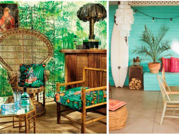 Decoración exótica: La Selva en casa