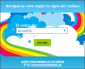 color según tu signo