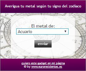 Metal según tu signo