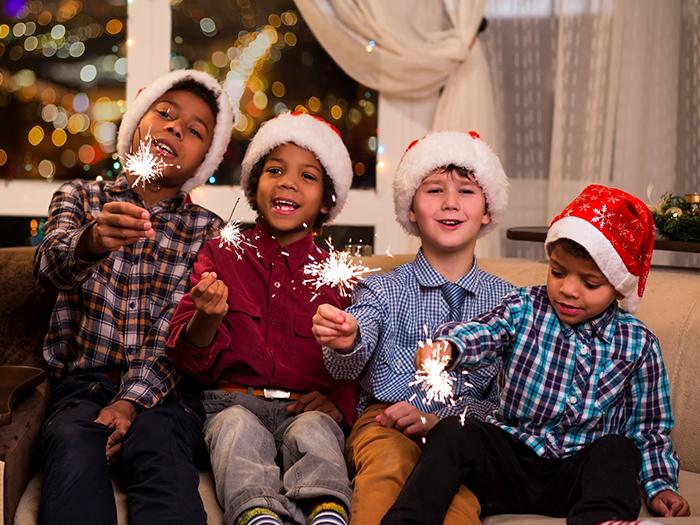 navidad fiestas con niños