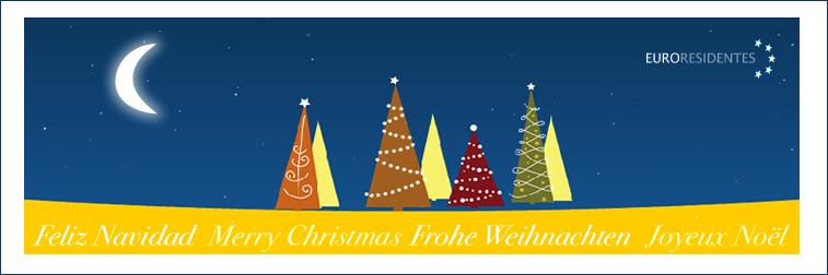 Happy Christmas from Euroresidentes
