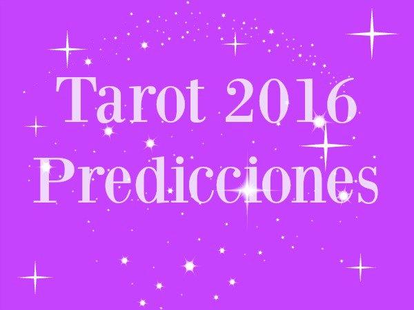 Predicciones del Tarot para el 2016