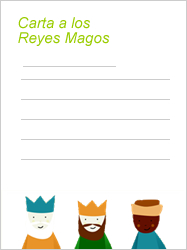 Cómo escribir una carta a los Reyes Magos