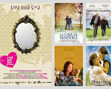 Nueve películas sobre el Alzheimer muy recomendables