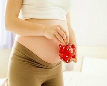 Ahorrar dinero para la llegada del bebé