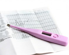 Basal thermometer and chart