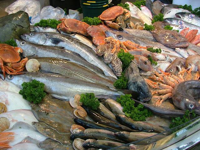 Pescado y pólipos de colon