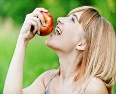 Una manzana al día para prevenir la obesidad