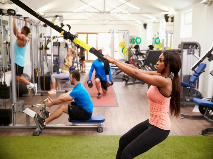 ¿Son saludables los gimnasios?