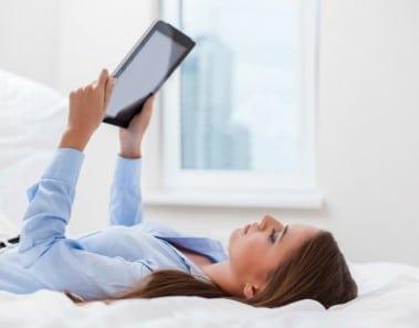 Problemas de sueño con los libros electronicos