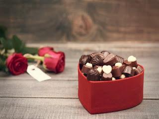 Dulce San Valentín saludable