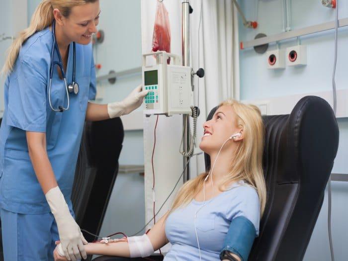 Importancia donar sangre