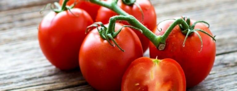 Tomates son ricos en antioxidantes