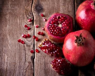 Comer granada es muy beneficioso para la salud