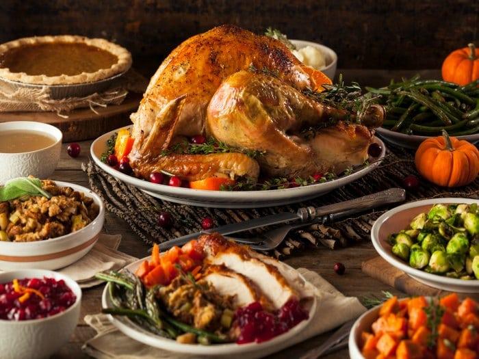 Controlar el peso en Acción de Gracias