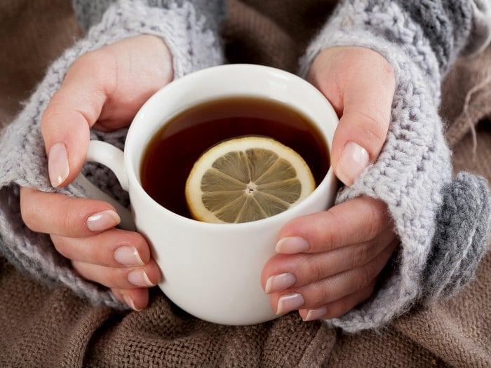 comer cuando estás resfriado té