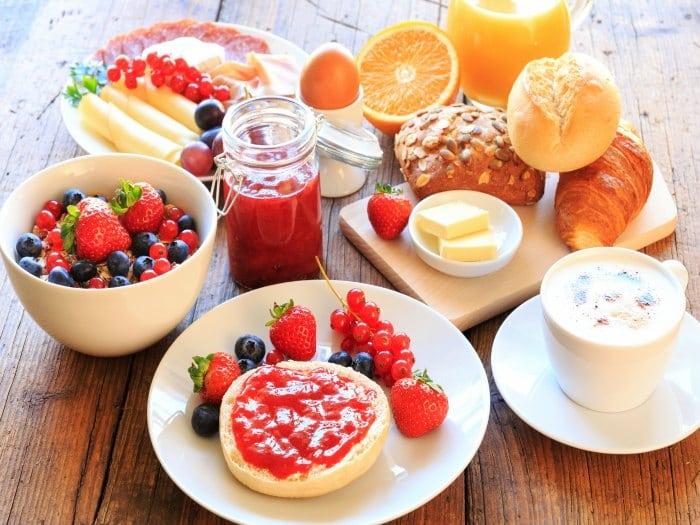 El desayuno es muy importante para rendir bien en los examenes