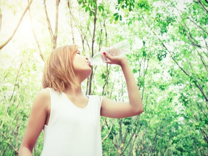 Es importante estar bien hidratado