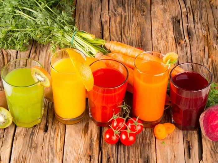 Mejor fruta y verdura fresca que los zumos