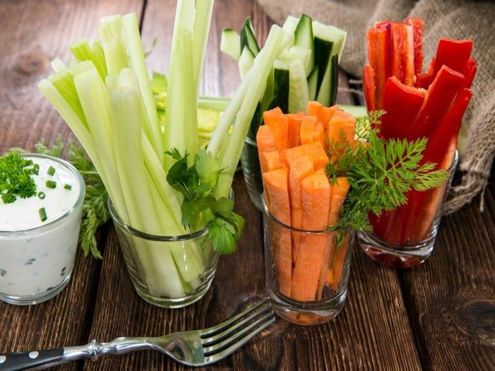 Cómo aumentar la cantidad de fruta y verdura diaria