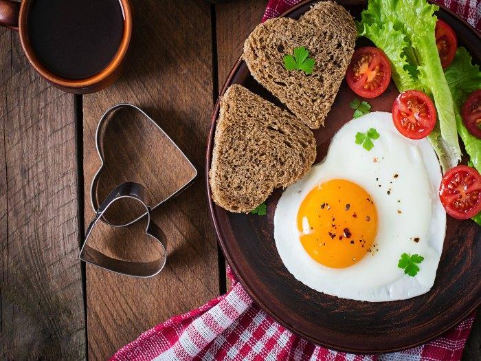 Los mejor del huevo, la yema