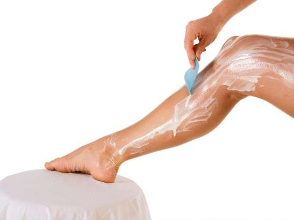 Cremas depilatorias: ¡Cuidado con las quemaduras químicas!