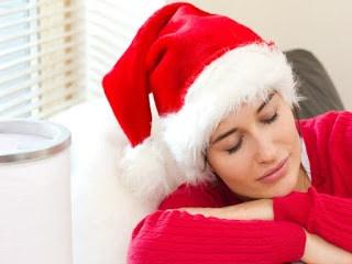Dormir mal en Navidad