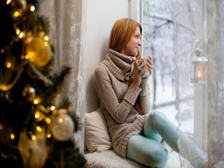 Quedarse en casa en Navidad
