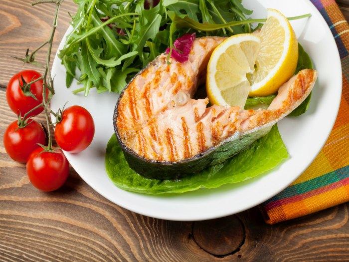 El pescado es rico en omega 3